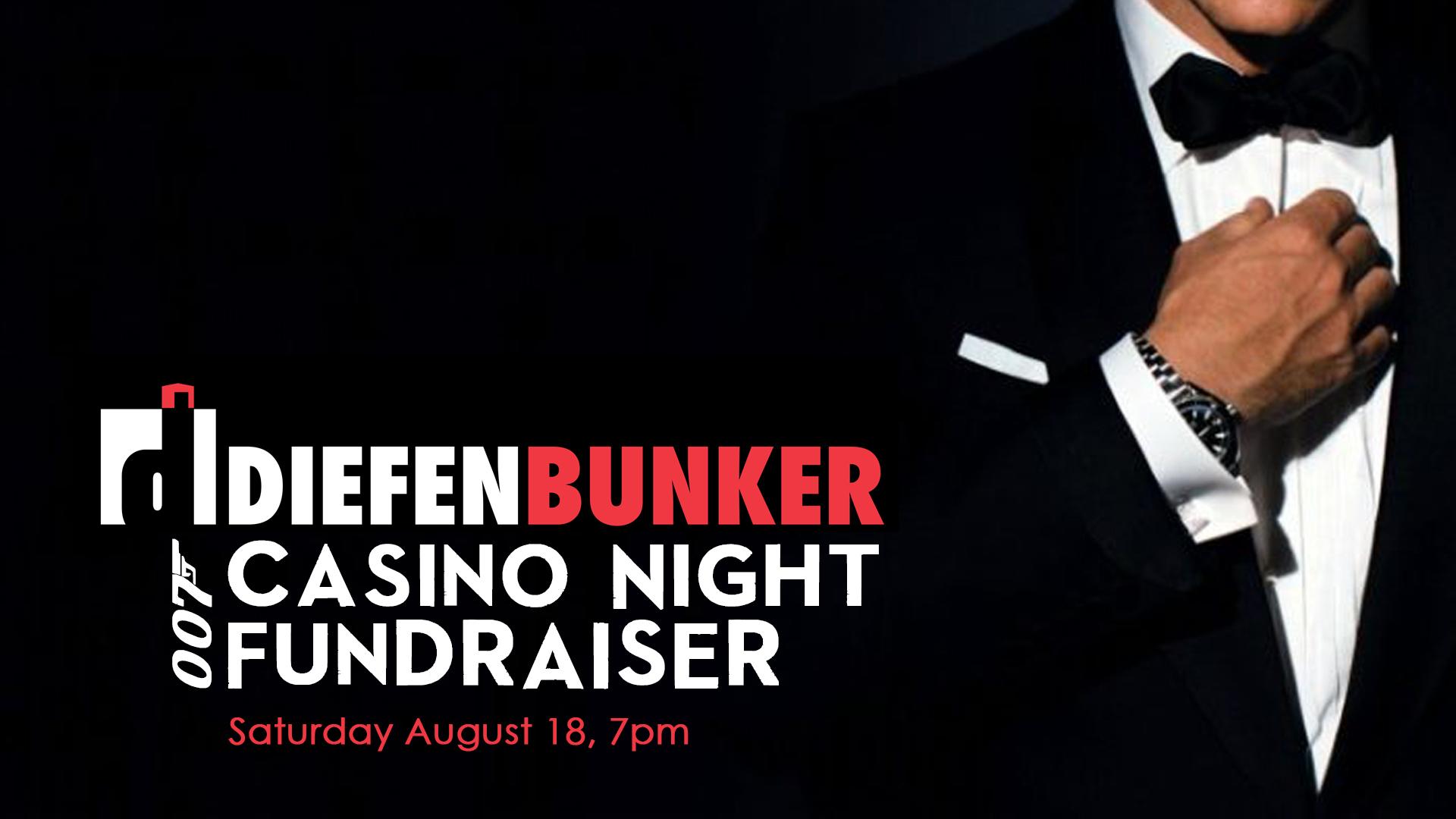 007 Casino Night Birthday Bash Fundraiser The Diefenbunker Museum