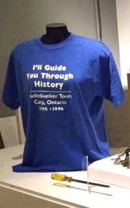 I'll guide you through history text on tshirt and screwdriver