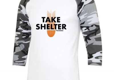 Take Shelter Baseball Shirt